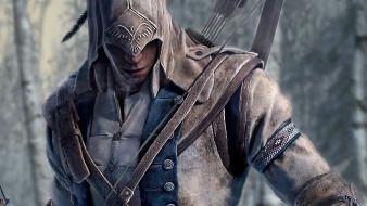 Assassins creed 3 game characters pc games wallpaper