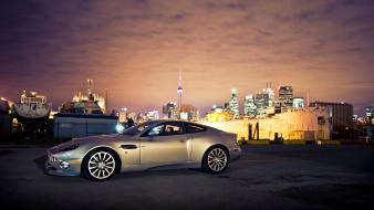Aston martin vanquish night city Wallpaper