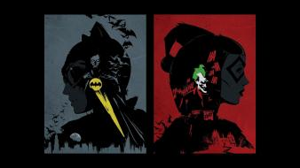 Batman catwoman dc comics harley quinn the joker wallpaper