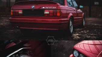 Bmw e30 engines red Wallpaper
