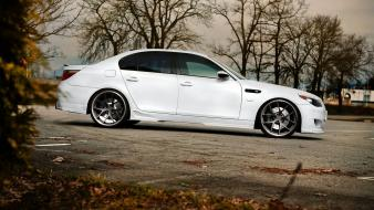 Bmw e60 m5 tuning white Wallpaper