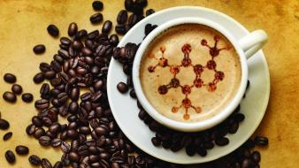 Caffeine chemistry coffee beans drinks wallpaper