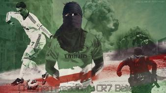 Chechnya cristiano ronaldo real madrid football players propaganda wallpaper