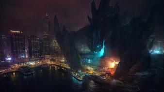 China hong kong kaiju pacific rim cities Wallpaper