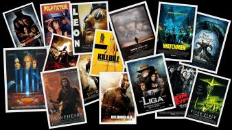 Collage digital art fan movie posters movies wallpaper