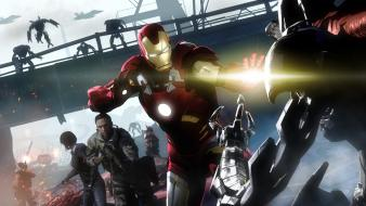 Crysis garrys mod iron man tony stark Wallpaper