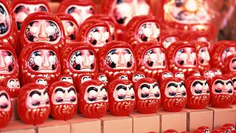 Daruma japan japanese traditions views toys (children) wallpaper