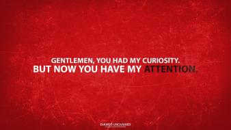 Django unchained grunge quotes red background typography wallpaper
