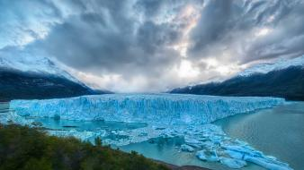Emerald patagonia trey ratcliff ice iceberg Wallpaper
