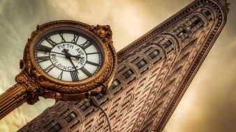 Flatiron building new york city angle architecture cities wallpaper