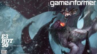 Game art characters covers gameinformer magazine wallpaper
