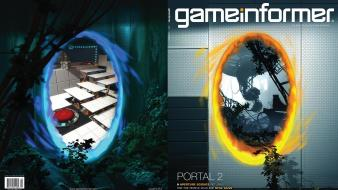 Game art portal 2 covers wallpaper