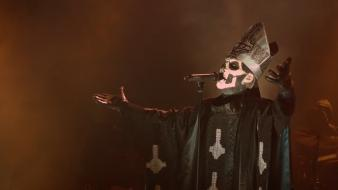 Ghost b.c. pope black metal brown Wallpaper
