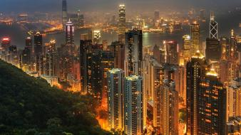 Hong kong cities cityscapes wallpaper