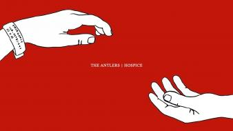 Hospice the antlers indie rocks simple background wallpaper