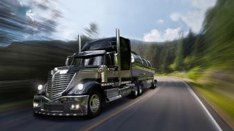 International lonestar trucks vehicles wallpaper