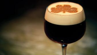 Irish coffee glass Wallpaper