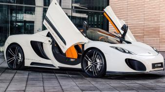 Mclaren cars white wallpaper