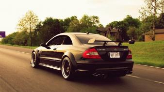 Mercedes benz clk cars Wallpaper