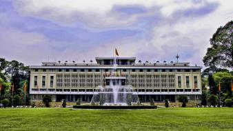 Norodom palace reunification viet nam wallpaper