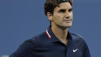 Roger federer racket tennis players wallpaper