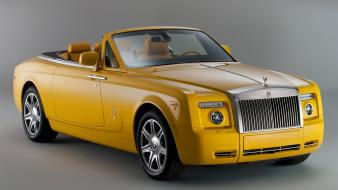 Rolls royce cars yellow wallpaper