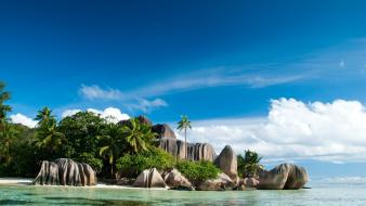 Seychelles islands nature wallpaper