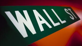 Wall street signs wallpaper