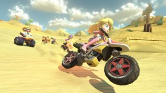 Wii u mario kart 8 video games Wallpaper