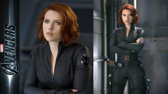 Black widow natasha romanoff the avengers (movie) wallpaper