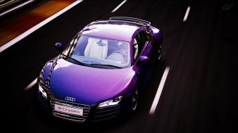 Cars audi r8 gran turismo 5 races Wallpaper