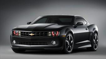 Chevrolet Camaro Black Concept 3 Wallpaper