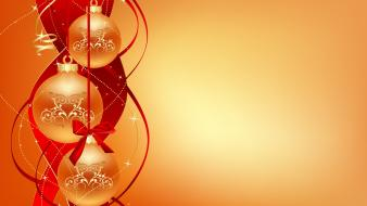 Chirstmas Balls Abstract wallpaper