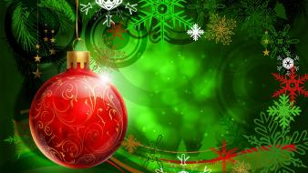 Colorful Christmas Decoration wallpaper