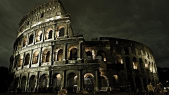 Colosseum Roman Architecture Wallpaper