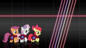 Cutie mark crusaders my little pony backgrounds cartoons wallpaper
