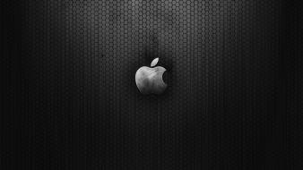 Dark Metal Apple wallpaper