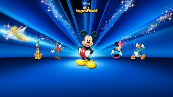 Disney Mickey Mouse World Hd wallpaper