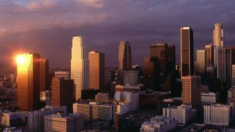 Downtown los angeles Wallpaper