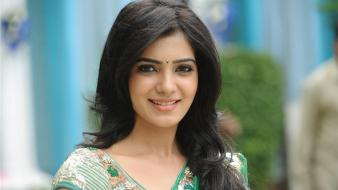 Face saree indian samantha ruth prabhu girls wallpaper