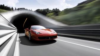Ferrari 458 Italia Supercar 4 wallpaper