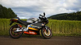 Fields motorbikes aprilia rs125 wallpaper