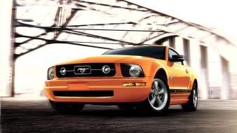 Ford Mustang Yellow wallpaper
