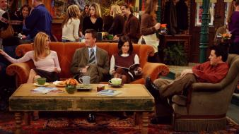 Friends (tv series) shows joey tribbiani sofa wallpaper
