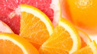 Fruits oranges grapefruits wallpaper