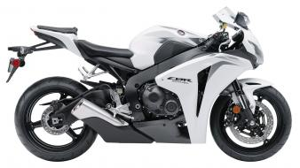 Honda Cbr 1000rr 2009 White wallpaper