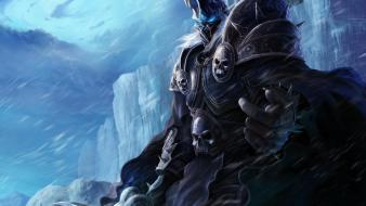 Ice mountains world of warcraft shade artwork Wallpaper