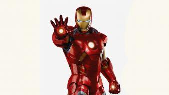Iron man marvel comics simple background white Wallpaper