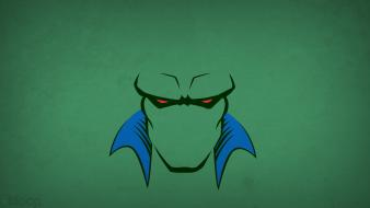 Justice league martian manhunter green background blo0p wallpaper