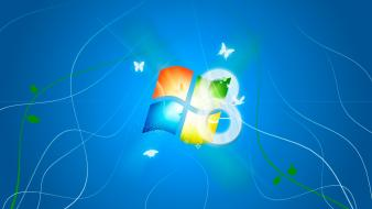 Logos windows 8 wallpaper